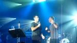 Robbie et Gary  au concert à Paris au Alhambra 10/10/2010 5e8e3f101962889