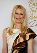 Claudia Schiffer @ British Fashion Awards in London, December 7, 2010