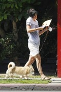 Сельма Блэйр, фото 8. Selma Blair 'Walking her Dog in L.A.' August, photo 8