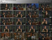 JoAnna Garcia -- Late Night with Jimmy Fallon (2010-09-28)